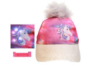 Unicorn Pom Baseball Cap 4 7