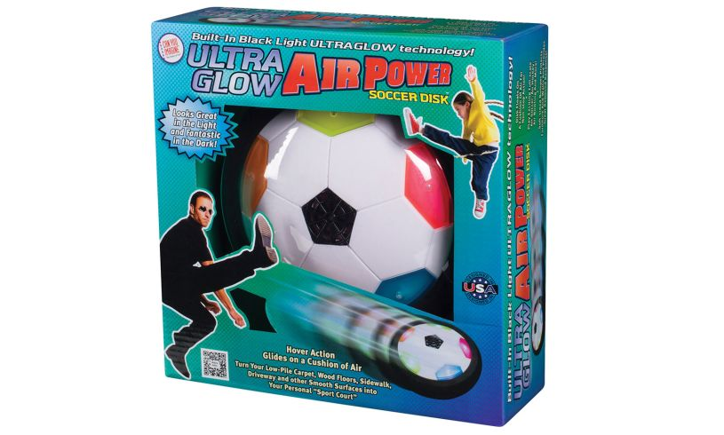 Air Power Soccer Disk Packaging