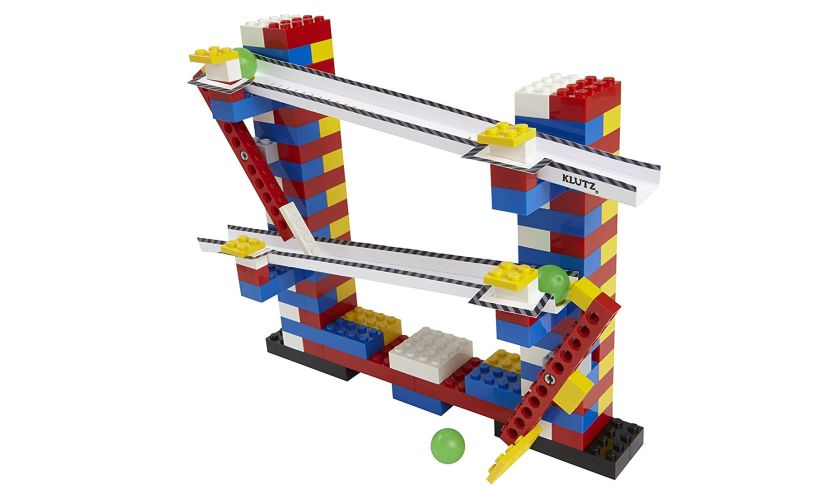 Chain Reactions Lego Kit - Moving Machines display
