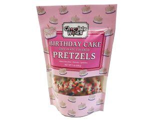 Birthday Cake Chocolate Pretzels Bag