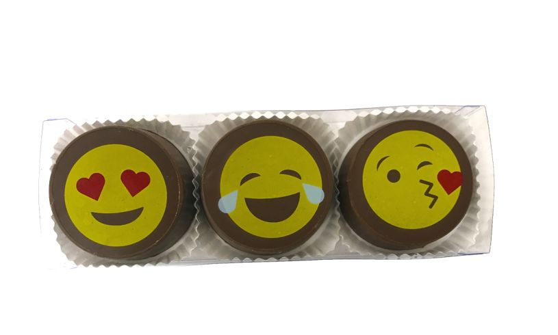 Emoji Chocolate Covered Oreo Gift Box