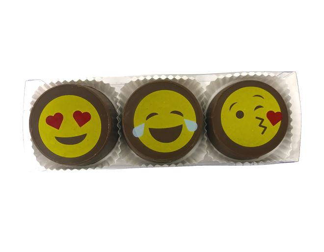 Emoji Chocolate Covered Oreo Gift Box