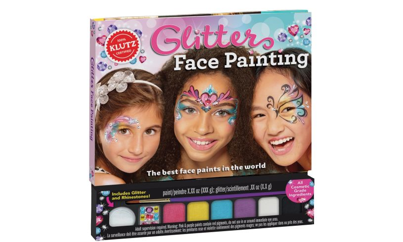 Glitter Face Painting - Color, Sparkle and Shine'