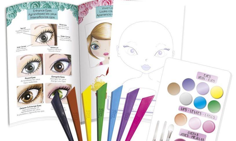 Make-up Artist Sketch Set Content