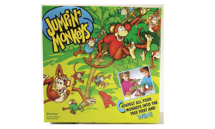 Box with Jumpin'Monkeys game