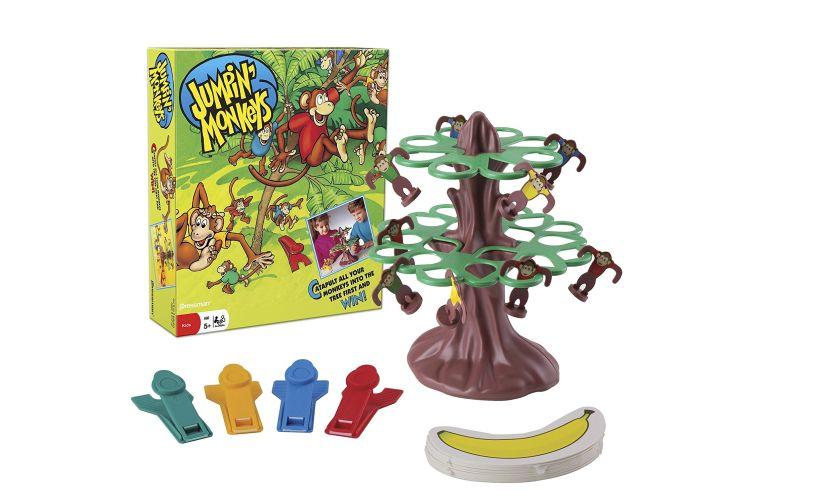 Jumpin' Monkeys game materials