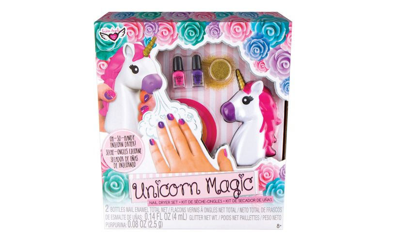 Unicorn Magic Nail Dryer Set Box