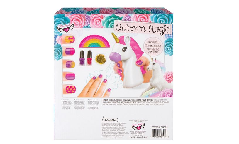 Unicorn Magic Nail Dryer Set Back