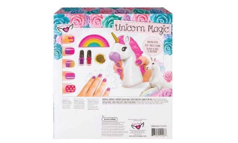 Unicorn Magic Nail Dryer Set Back