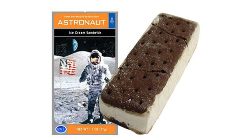 Astronaut Vanilla Ice Cream Sandwich Contents
