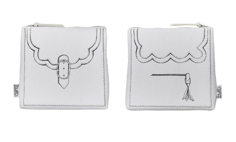 Eat Sleep Doodle Designer Bag Detail