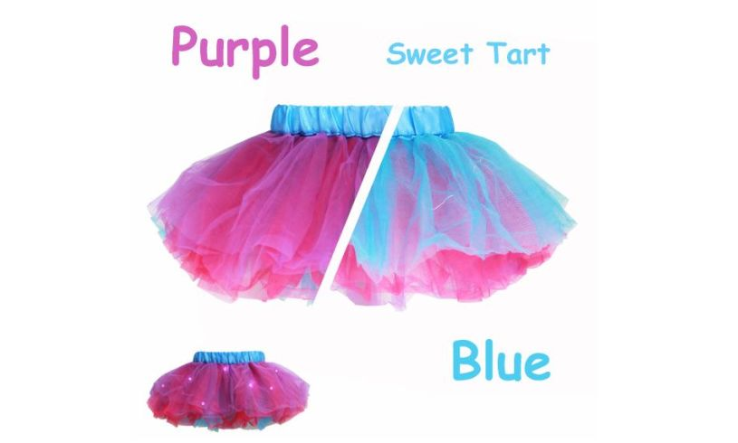 Reversible Scented Light-up Tutu Detail