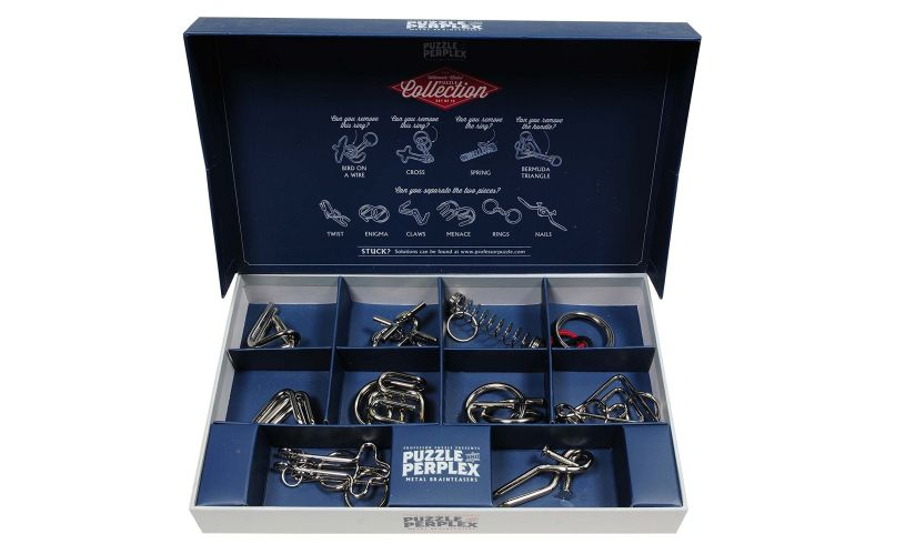 Puzzle and Perplex Collection of Metal Brainteasers