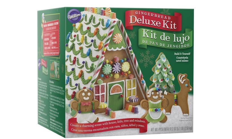 Deluxe gingerbread house kit all in one brilliant childrens presents curl up by the fire with your loved ones and your gingerbread set might as well roast some chestnuts on an open fire while youre at it solutioingenieria Image collections
