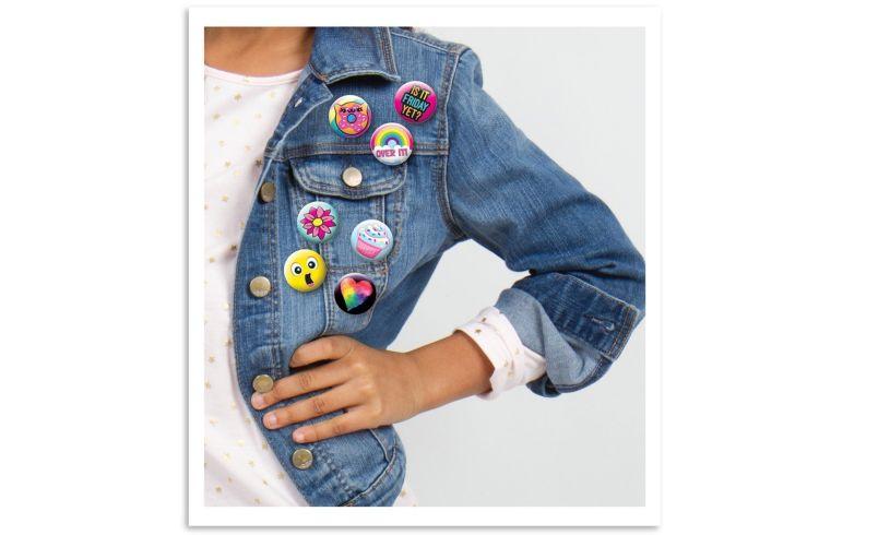 Badge Pin Design Kit pins