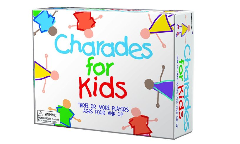 Box with Charades for Kids game