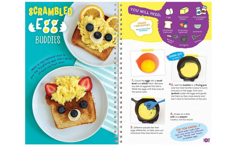 Kids Cooking - Tasty Recipes with Photos opened