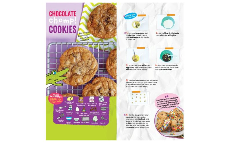 Kids Cooking - Tasty Recipes with Photos cookies