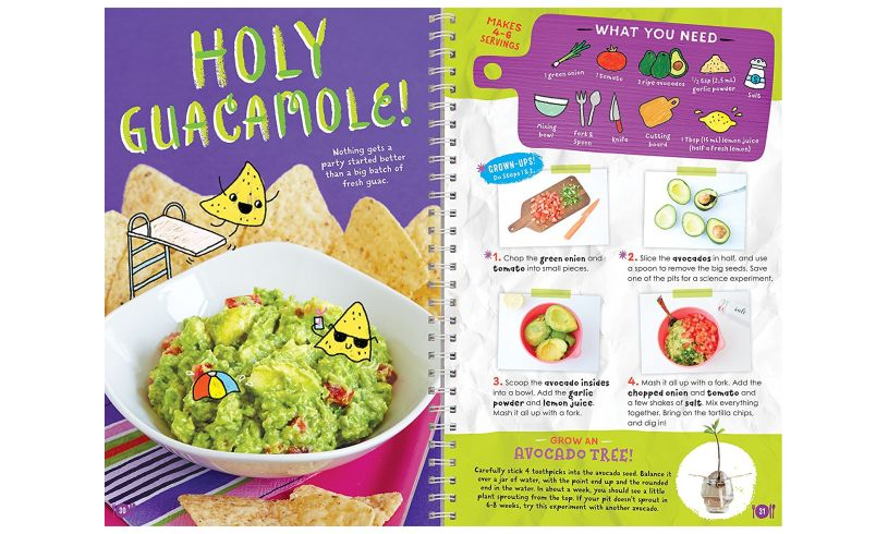 Kids Cooking - Tasty Recipes with Photos quacamole