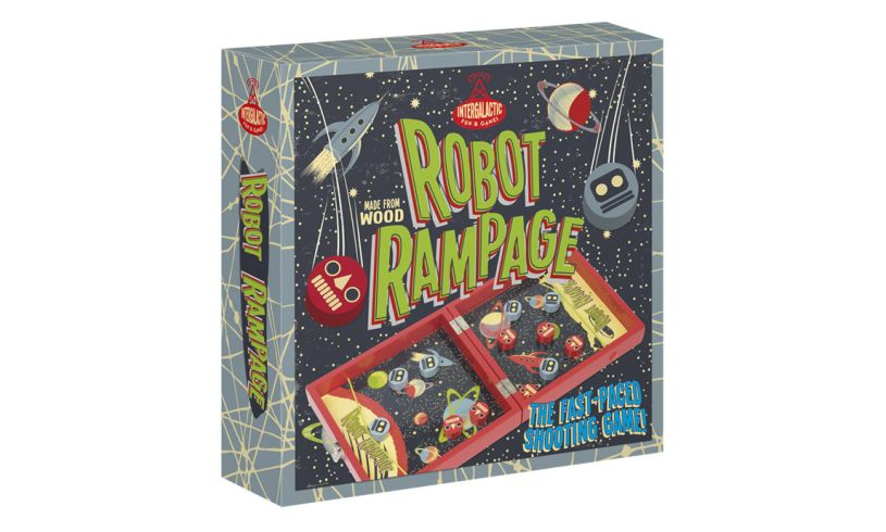Robot Rampage - Cyborg Challenge