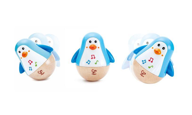 Penguin Musical Wobbler Detail