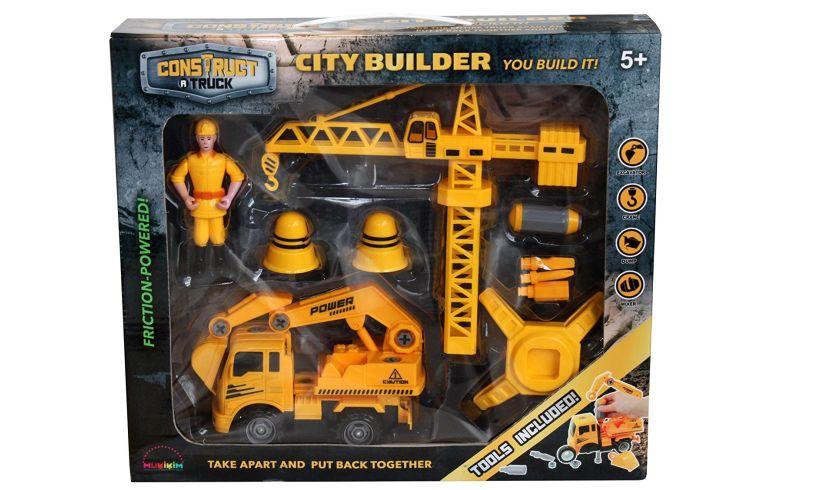 Construct a truck City builder