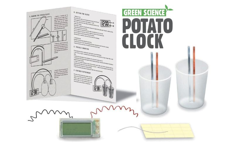 Potato Clock Contents