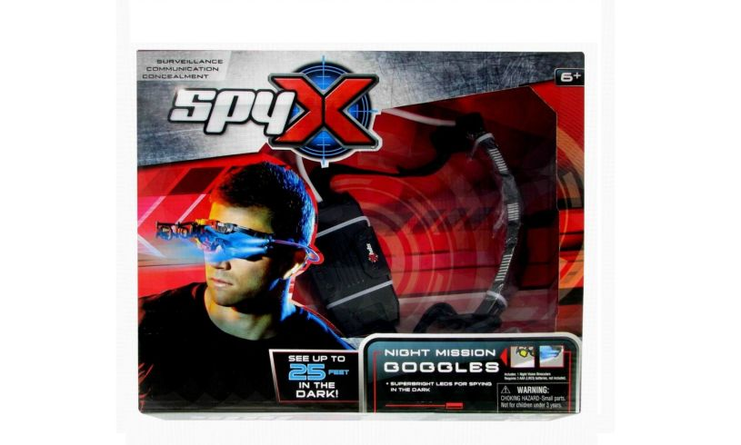 Box with Spy X Night Mission Goggles