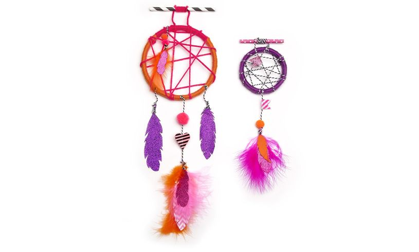 The Dream Catcher Kit - Catch Sweet Zzzs display
