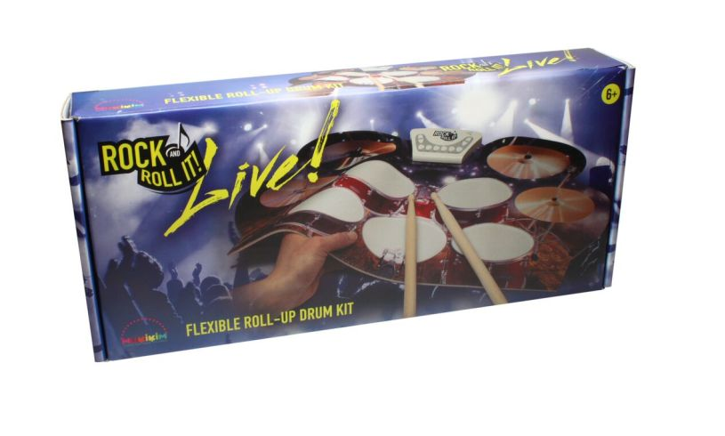 box for Flexible Roll Up drum kit