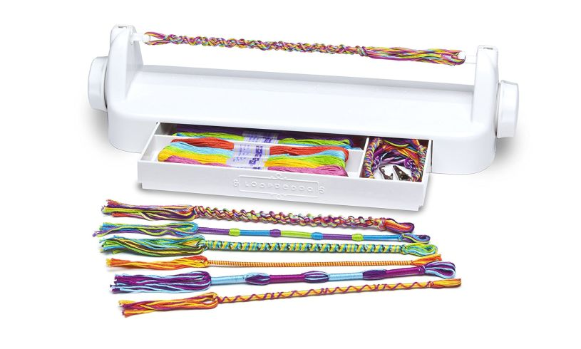 Loopdedoo - Bracelet Spinning Loom display