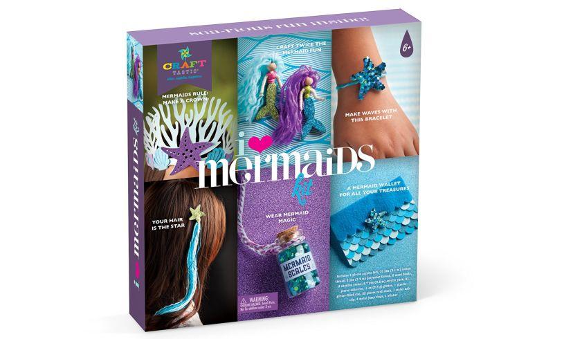 I Love Mermaids Kit - Swimming Designs