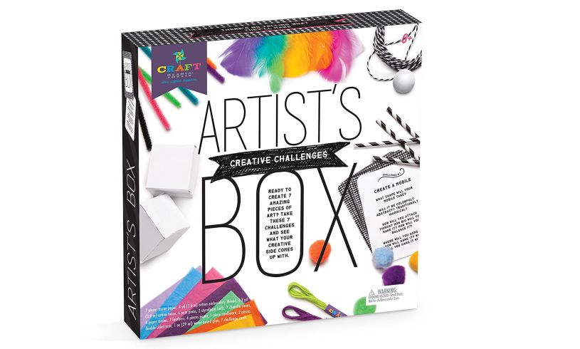 Artist's Creative Challenges Box