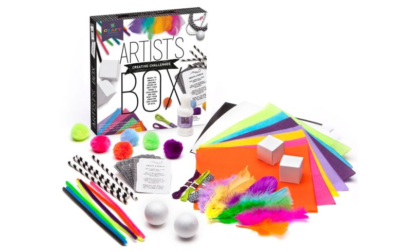 Artist's Creative Challenges Box items
