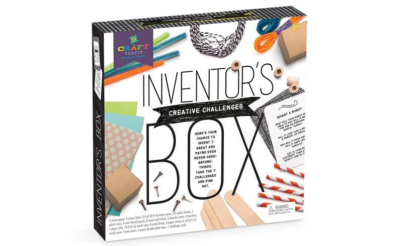 Inventor's Box Creative Challenges boxed