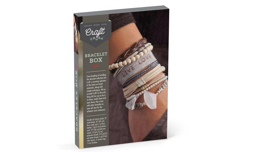 back of box bracelet craft