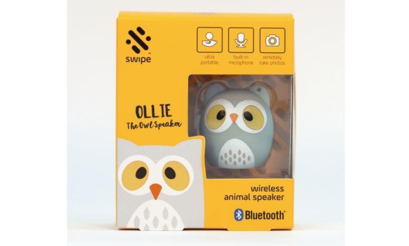 Ollie the Owl Wireless Speaker boxed