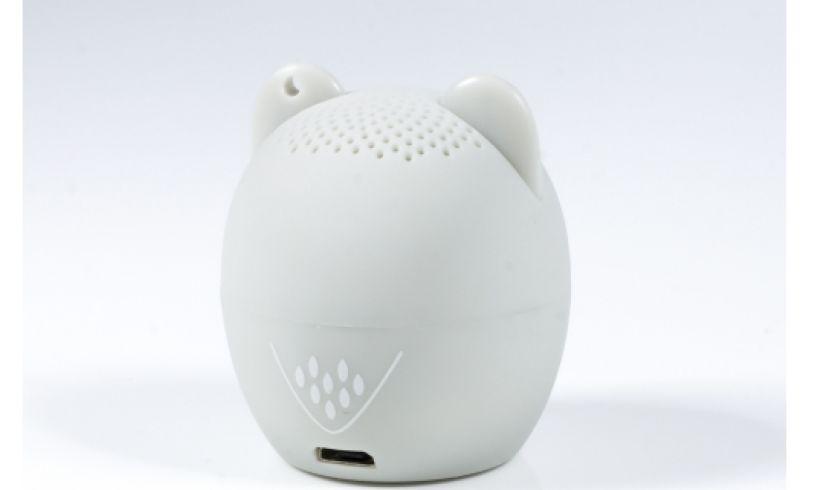 Ollie the Owl Wireless Speaker back