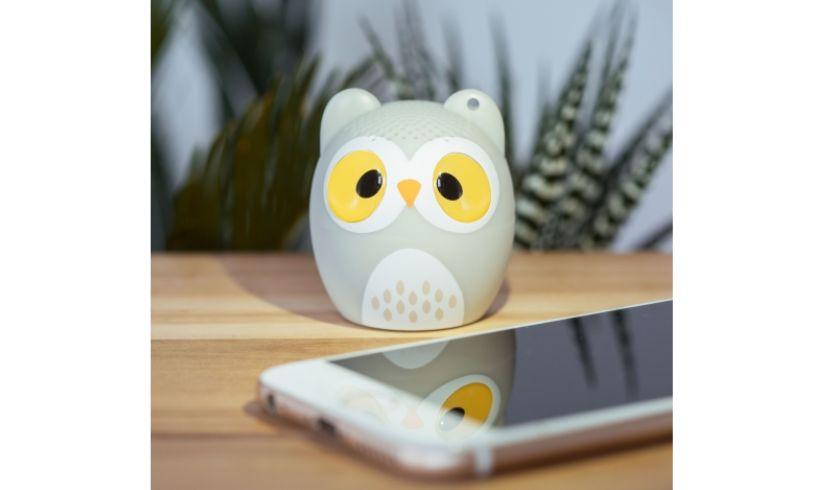 Ollie the Owl Wireless Speaker detail