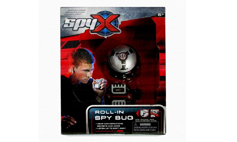 box with Roll in Spy bug