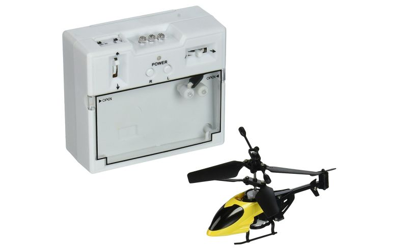 World's Smallest R/C Helicopter Control