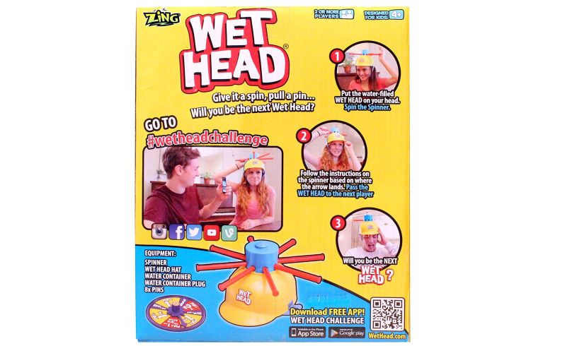 Wet Head Game Back