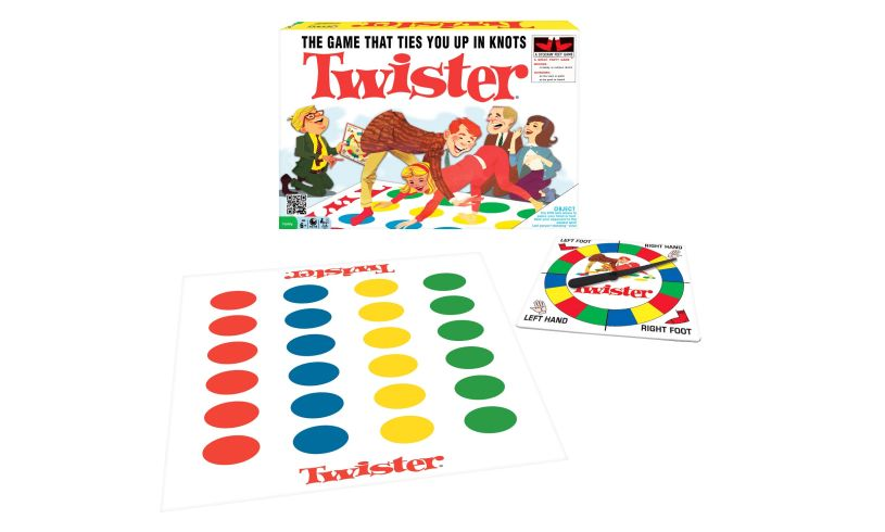box plus twister game and spinner