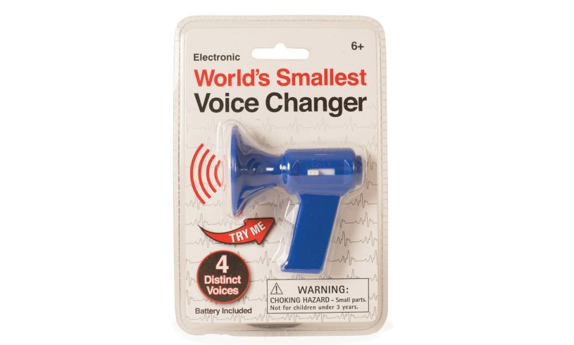 World's Smallest Voice Changer Pack