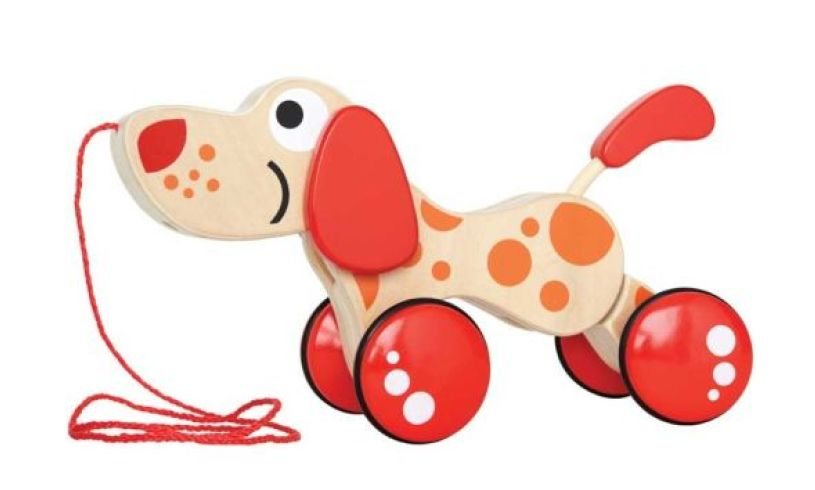 Walkalong Wooden Puppy