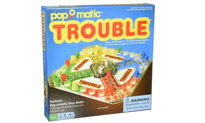 Trouble Classic Board Game
