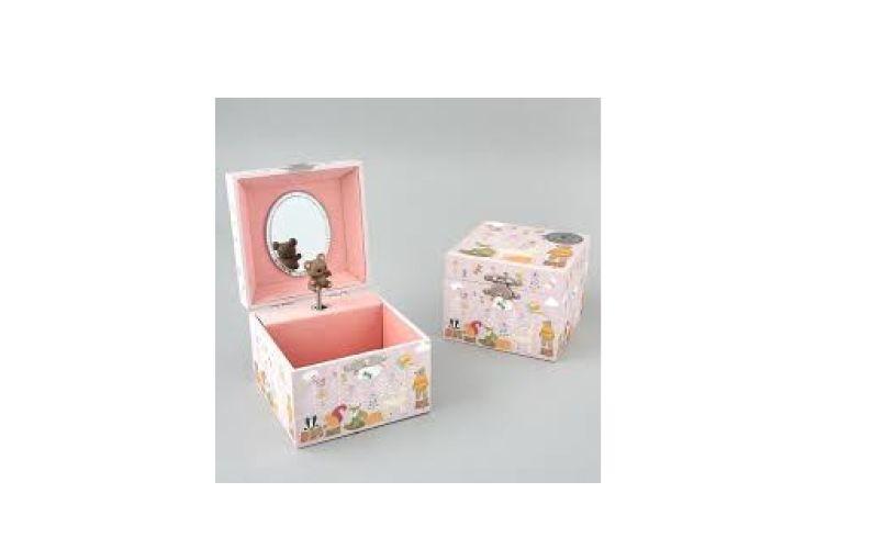 Musical Jewellery Box - Woodland Fairy