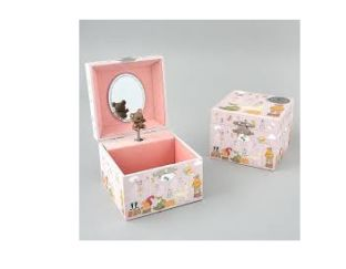 Musical Jewellery Box - Woodland Fairy