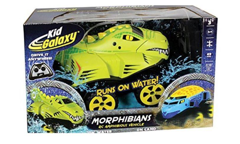 box of Morphibians crocodile car