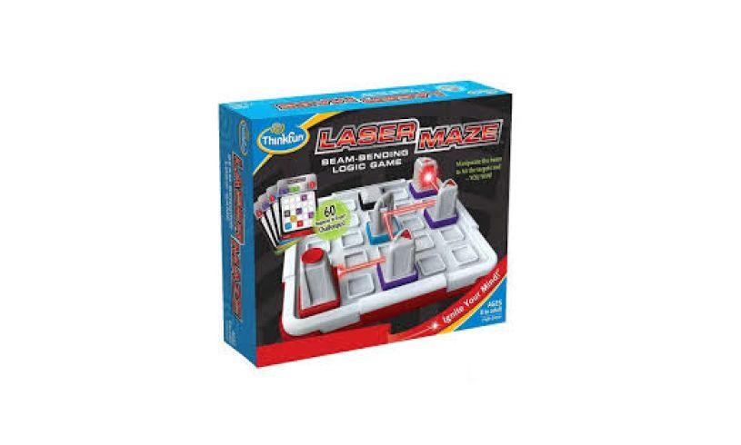 Laser Maze Beam-Bending Logic Game Box